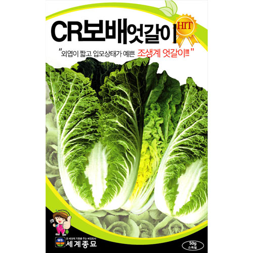 cr korean cabbage seeds (25g)